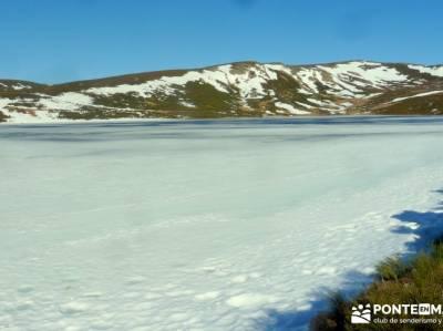 Parque Natural del Lago de Sanabria - lago glaciar, senderismo invernal;senderismo vip
